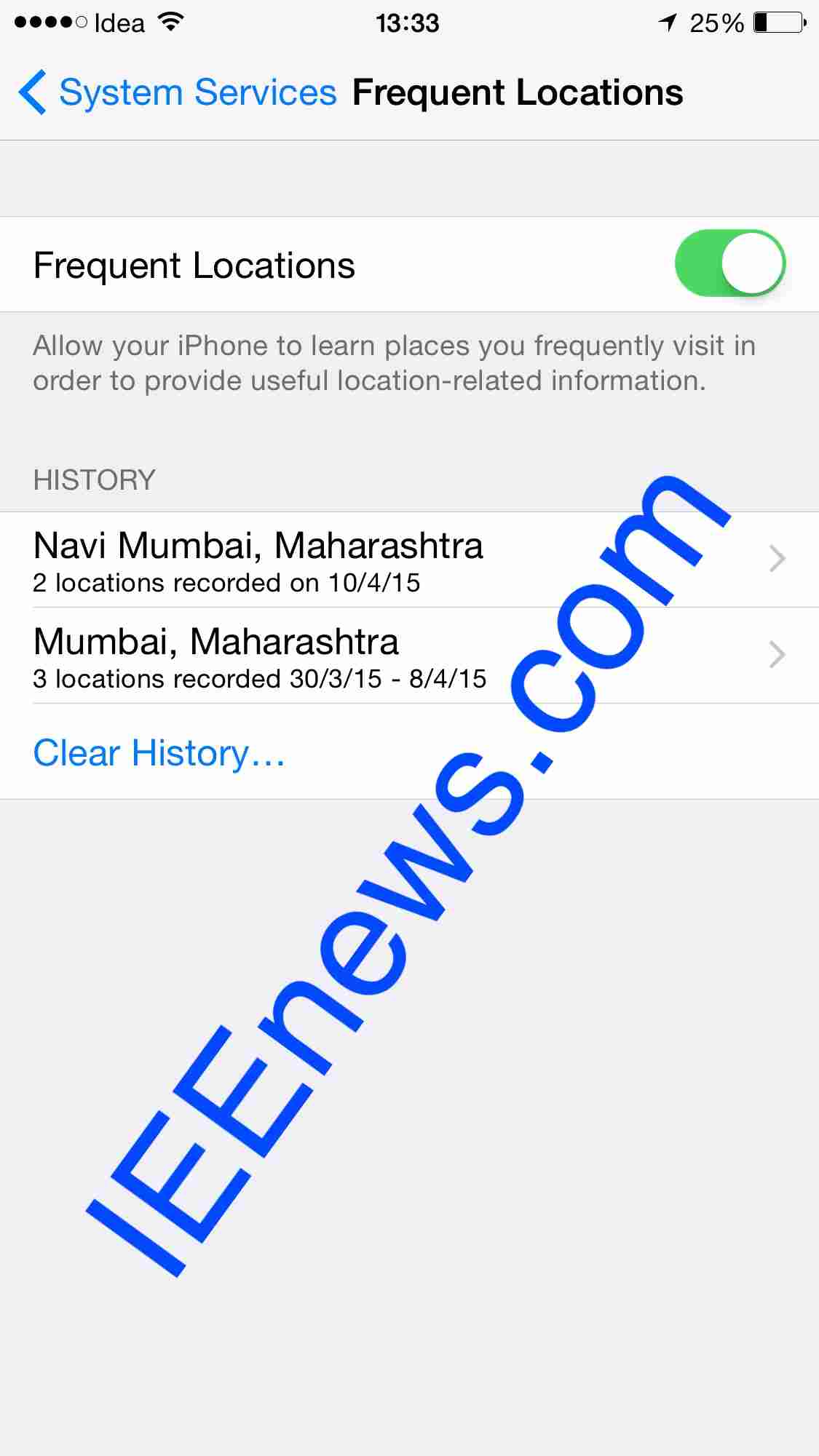 How to access location services on iPhone (With pictures)