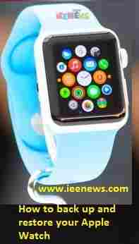 How to back up and restore your Apple Watch