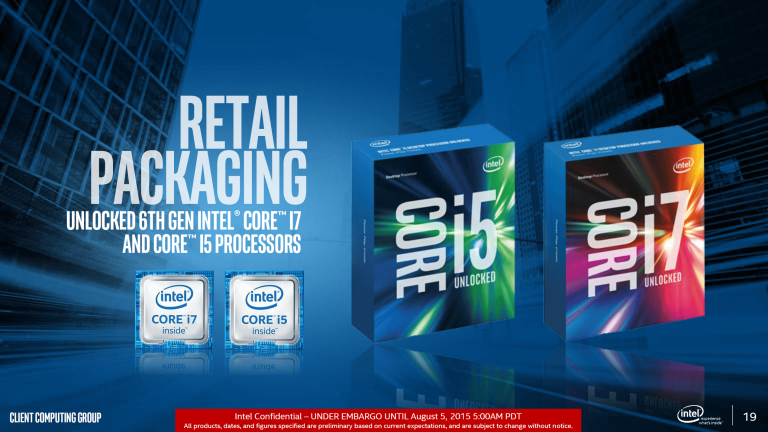 Intel skylake performance review