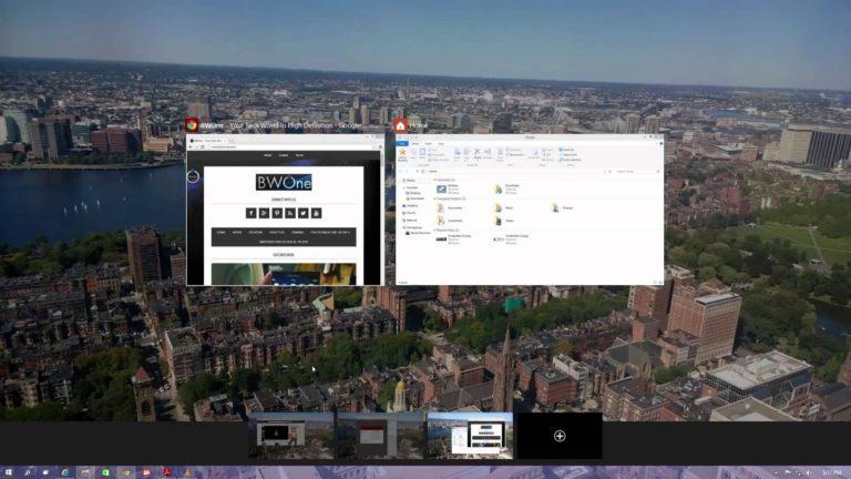 How to use multiple desktops in Windows 10: Win 10 multiple desktops: How to Use Virtual Desktops in Windows 10