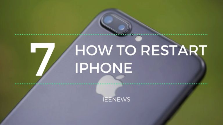 How to restart iPhone 7 and iPhone 7 Plus