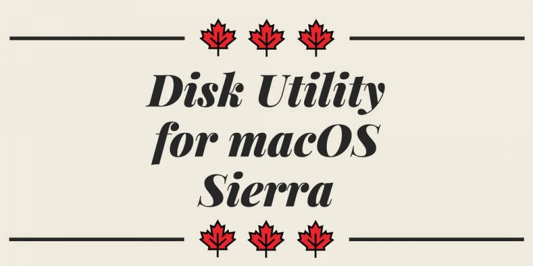 Disk Utility for macOS Sierra: Create partitions on a physical disk with Disk Utility